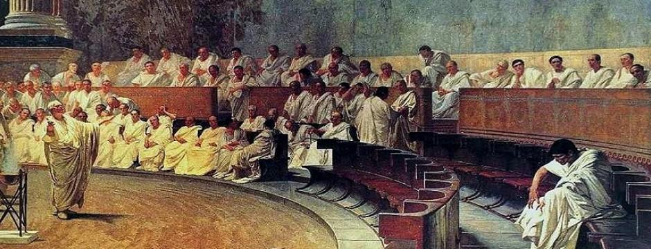 Maccari: Ciceros Rede gegen Catilina